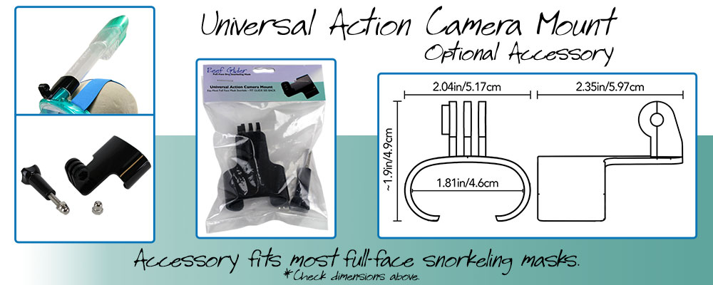 Universal Action Camera Mount