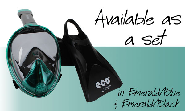 Reef Glider Set Black Emerald