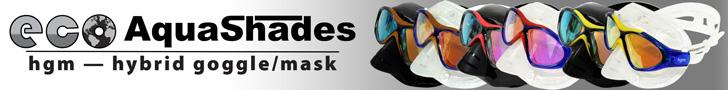 ECO Aquashades hgm hybrid goggle/mask